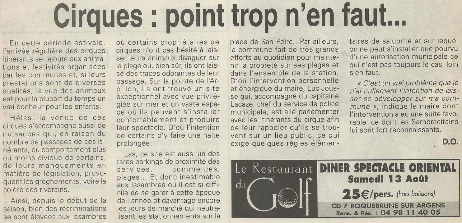 Roquebrune point trop n 39 en faut - Point trop n en faut ...